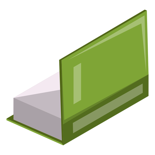 Half open book icon Transparent PNG