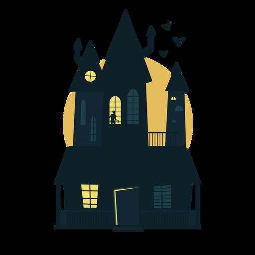 Casa embrujada de Halloween Transparent PNG