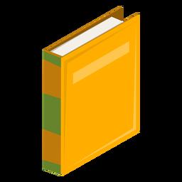 Icono de tapa dura libro