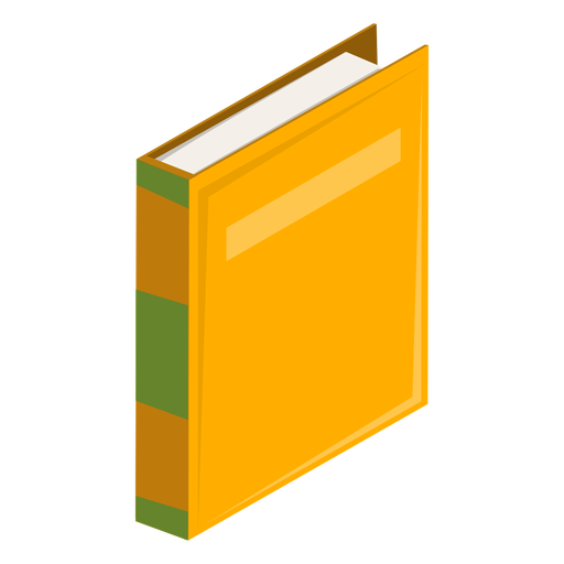 Hard covers book icon Transparent PNG