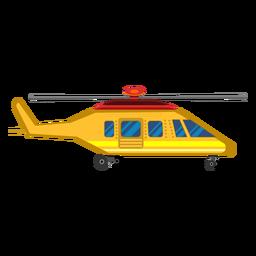 Clipart de aeronaves de helicóptero