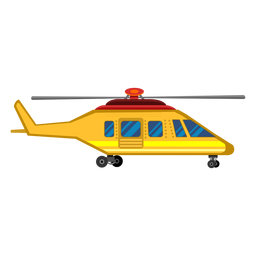Helicopter aircraft clipart