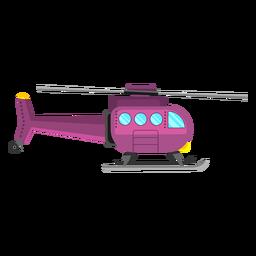 Hubschrauber-Flugzeug-Symbol
