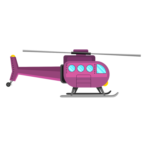 Helicopter aircraft icon Transparent PNG