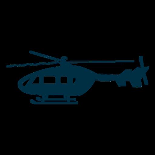 Helicóptero silueta de aviones Transparent PNG