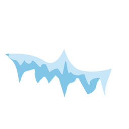 Eiszapfen Mütze Symbol