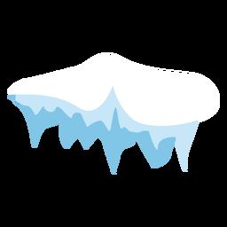 Icono de la tapa de carámbano