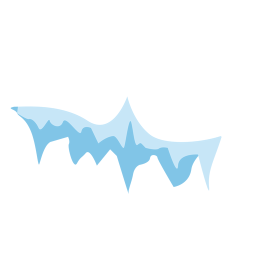 Icicle cap icon Transparent PNG
