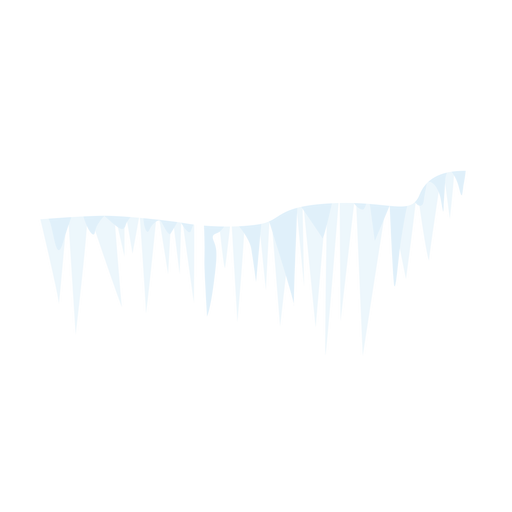 Icicle icon Transparent PNG