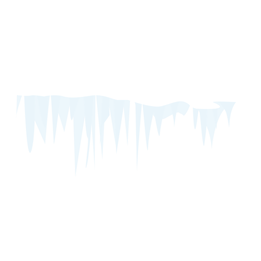 Icicle snow icon Transparent PNG