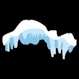 Icono de la tapa de carámbanos