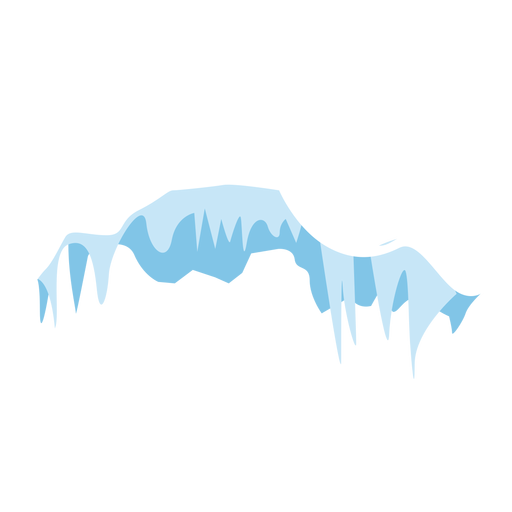Icicles cap icon Transparent PNG