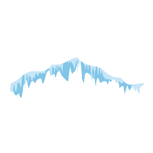 Icicles snow icon Transparent PNG