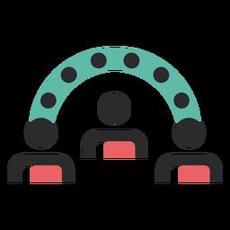 Ideen-Austausch-Symbol