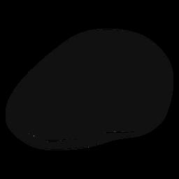 Efeu Kappe flach Symbol