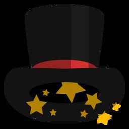 Icono de sombrero de copa mágico