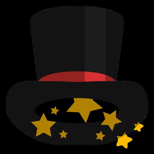 Icono de sombrero de copa mágico Transparent PNG