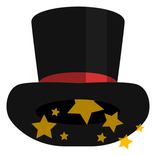 Magic top hat icon Transparent PNG