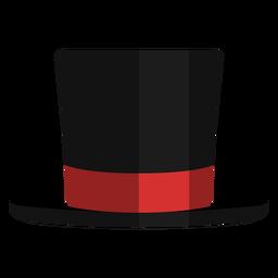 Ícone de vista frontal de chapéu de mago