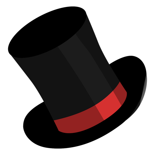 Icono de sombrero de mago Transparent PNG