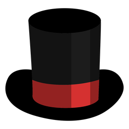 Magician top hat icon