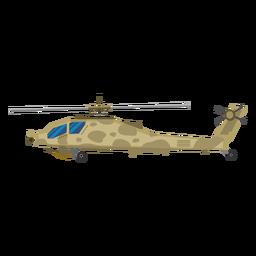 Icono de helicóptero militar