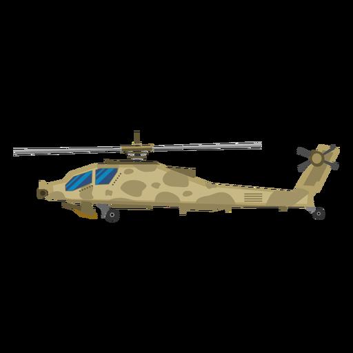 Icono de helicóptero militar Transparent PNG