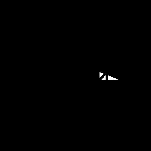 Icono de trazo de helicóptero militar Transparent PNG