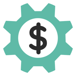 Money gear icon