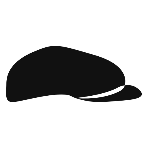 Newsboy hat flat icon Transparent PNG
