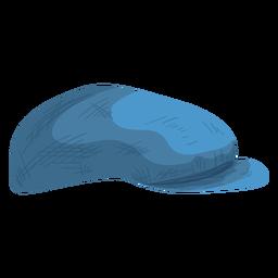 Icono de sombrero de vendedor de periódicos