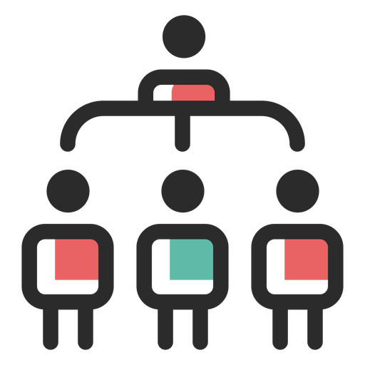 Organisational structure icon Transparent PNG