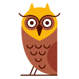 Coruja, pássaro, ilustração