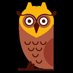 Ilustración de pájaro búho