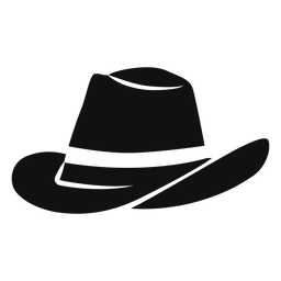 Panama hat flat icon