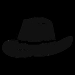 Panama Hut flach Symbol