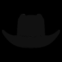 Icono de esbozo de sombrero de panama