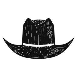 Panama hat sketch icon