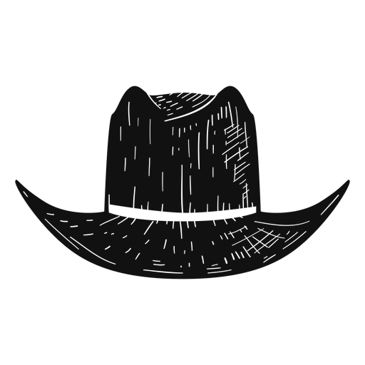 Panama hat sketch icon Transparent PNG