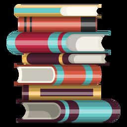 Icono de pila de libros