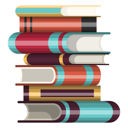 Stapel von Büchern-Symbol Transparent PNG