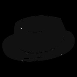Ícone plana de chapéu de torta de carne de porco