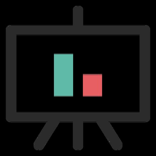 Icono gráfico de la pantalla del proyector Transparent PNG