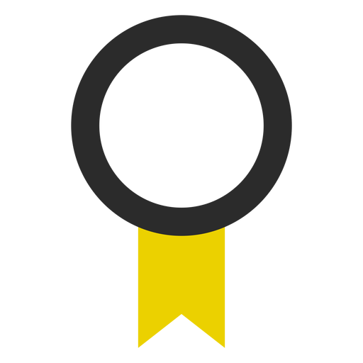Quality ribbon colored stroke icon Transparent PNG