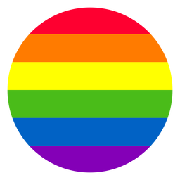 Elemento círculo del arco iris