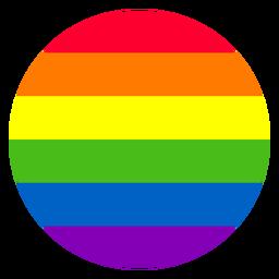 Elemento del círculo del arco iris