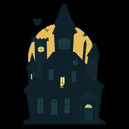 Casa embrujada de miedo de halloween
