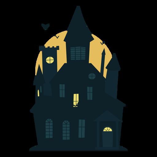 Casa embrujada de halloween de miedo Transparent PNG