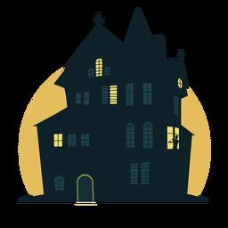 Casa de halloween assustador