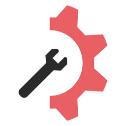 Seo Einstellungen farbiges Strichsymbol
